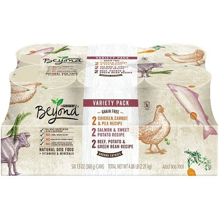 6 Pack of Purina Beyond Natural Dog Food