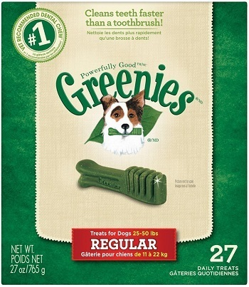 GREENIES Original Dental Chews Dog Treats