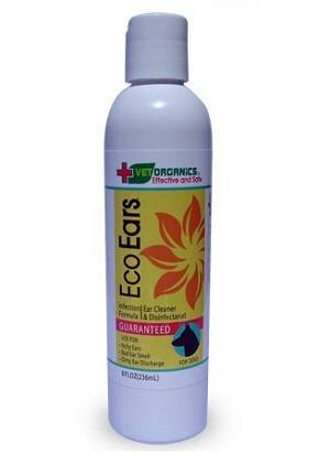 EcoEars Dog Ear Cleaner For Dogs with Mites